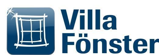 villa fönster logo
