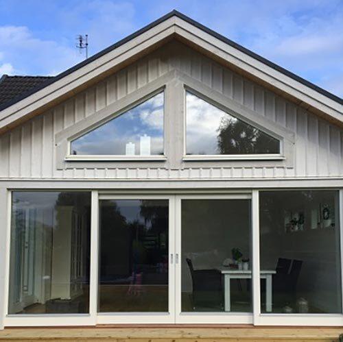 Fönsterbyte av hus