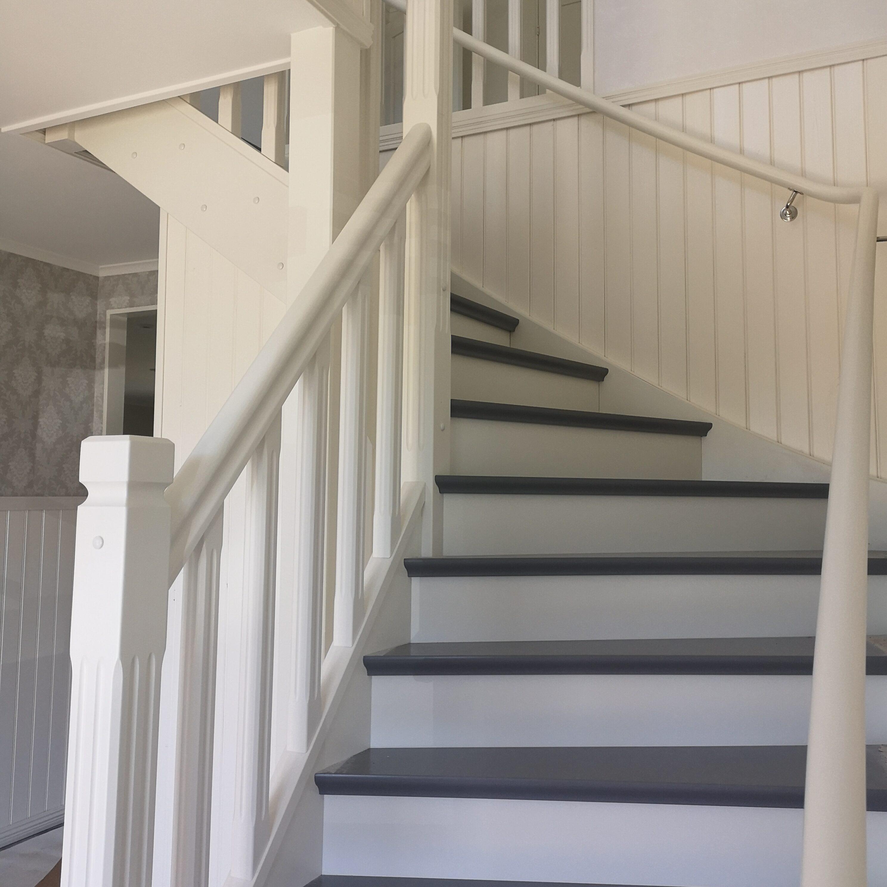 Renovering av trappa